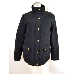 Savile Row Co. London Size L Quilted Jacket Black